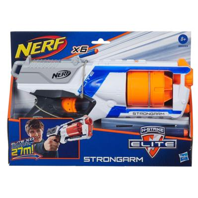 Nerf Strike Elite  Strongarm Tambor Giratorio– Hasbro  - Doce Diversão