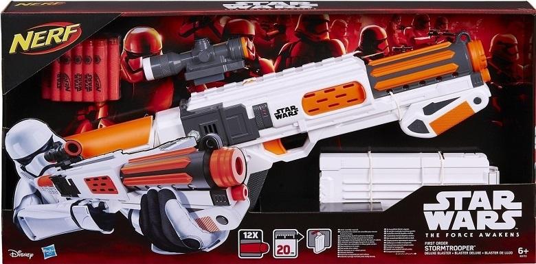 Nerf Strike Elite Star Wars Stormtrooper DLX Luxo– Hasbro  - Doce Diversão