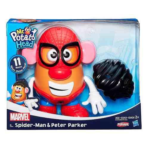 Mr Potato Head Clássico Marvel - Spiderman - Hasbro  - Doce Diversão