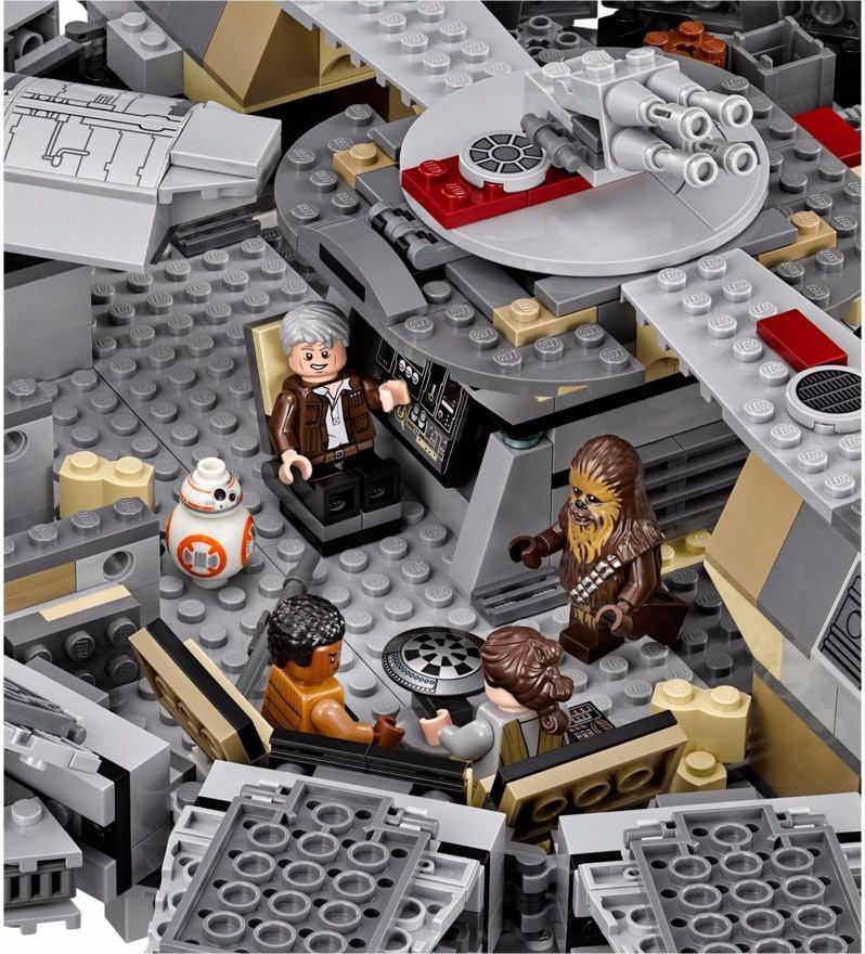 Lego 75105 - Star Wars - Millennium Falcon 1329 peças  - Doce Diversão