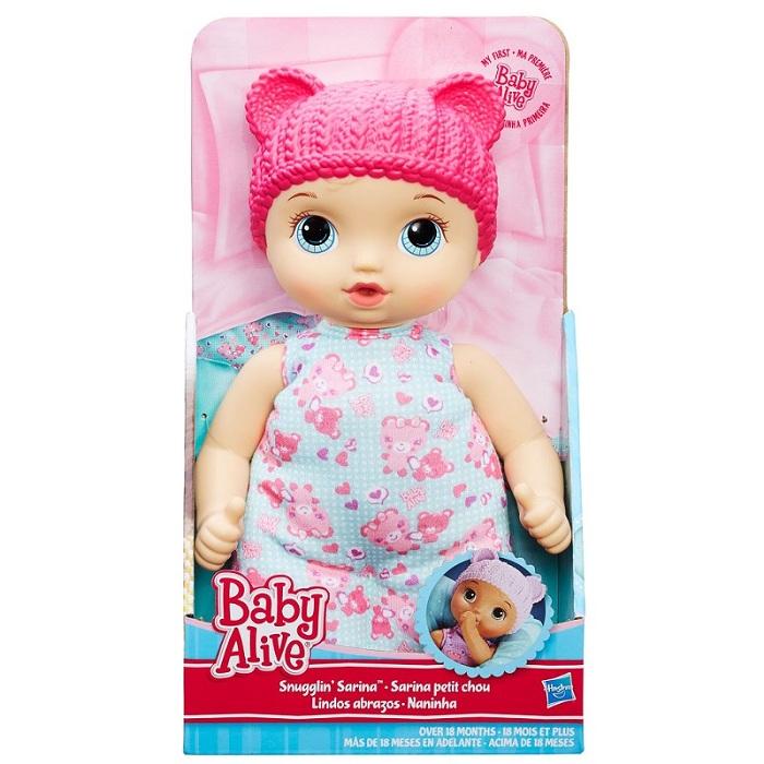 Boneca Baby Alive Naninha loira - 18 meses - Hasbro  - Doce Diversão