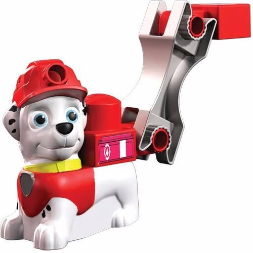 Patrulha Canina Veiculo Marshall + Blocos Montar 25cm  - Sunny  - Doce Diversão