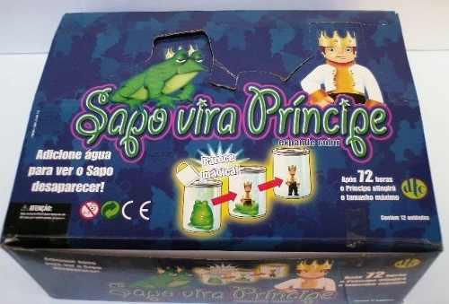 Sapo Vira Príncipe Dtc C/12  - Doce Diversão