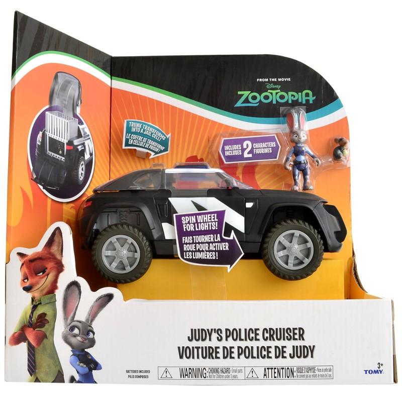 Zootopia - Disney - Veiculo da Policial Judy Luxo - Sunny  - Doce Diversão
