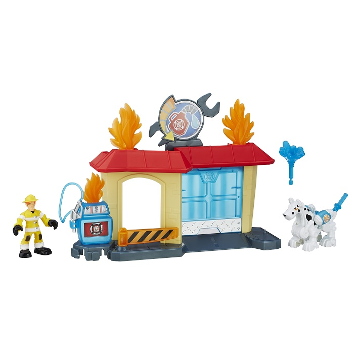 Transformers Playskool Rescue Bots Oficina Griffin Rock – Hasbro  - Doce Diversão