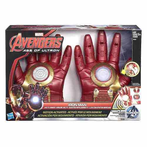 Luva Eletronica Iron Man/ Homem de Ferro Guerra Civil - Hasbro  - Doce Diversão