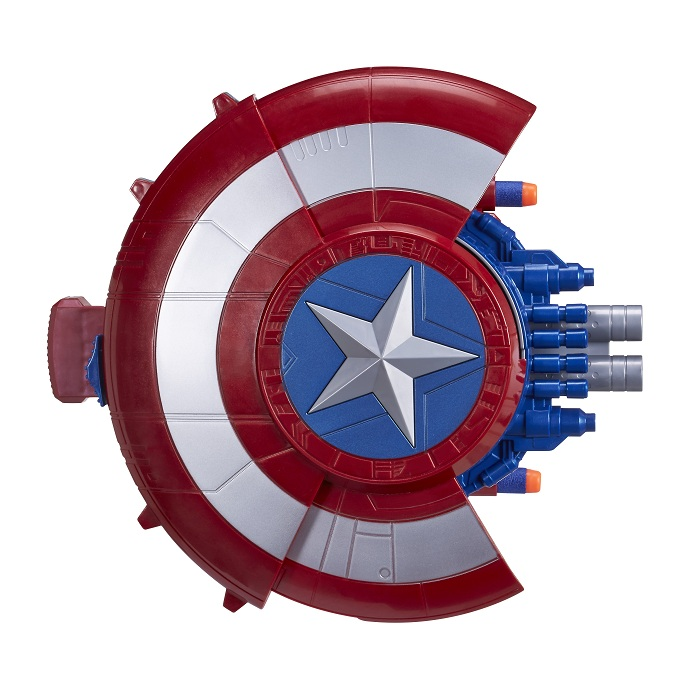 Escudo de Ataque C Lançador Nerf Capitão America Guerra Civil – Hasbro  - Doce Diversão