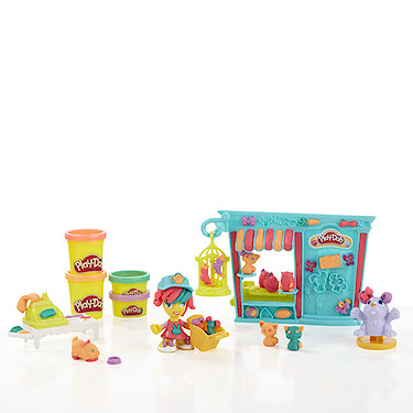 PLay Doh Town - Pet Store Shop - Hasbro  - Doce Diversão