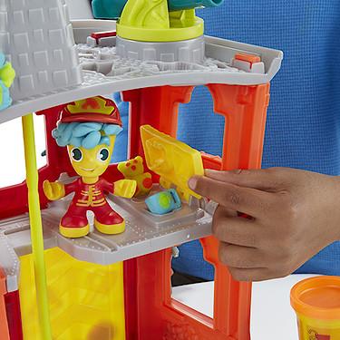 Play Doh Town Fire Quartel Corpo de Bombeiros - Hasbro  - Doce Diversão