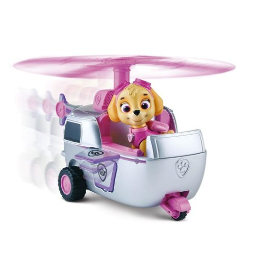Patrulha Canina Veiculo + Figura – Skyes High Flyin Copter - Sunny  - Doce Diversão