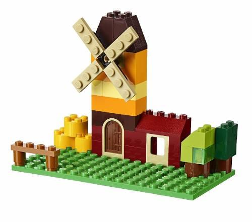 Lego 10696 – Classic Caixa Media 484 Peças Criativa + Livro Ideias  - Doce Diversão