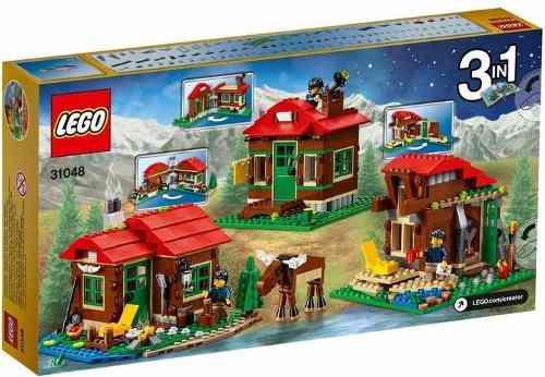 lego 31048 - creator - Casa do Lago 3 em 1 -368 peças  - Doce Diversão