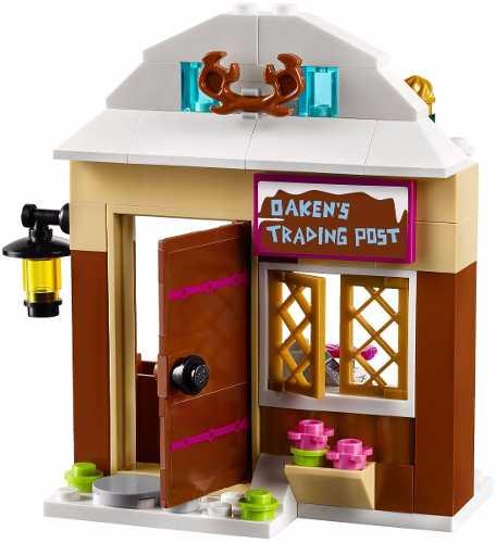 Lego 41066 Frozen Aventura de Trenó de Anna e Kristoff 174 peças  - Doce Diversão