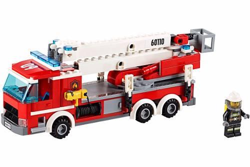 Lego 60110 City Quartel dos Bombeiros - 919 Peças  - Doce Diversão