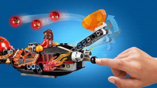 Lego 70314 Nexo Knights – Carro do Caos Mestre Besta  - Doce Diversão