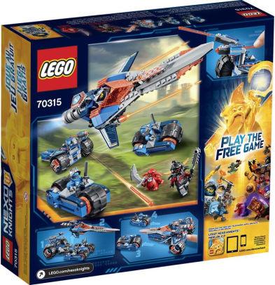 Lego 70315 Nexo Knights – Espada  Estrondosa do Clay – 367 pç  - Doce Diversão