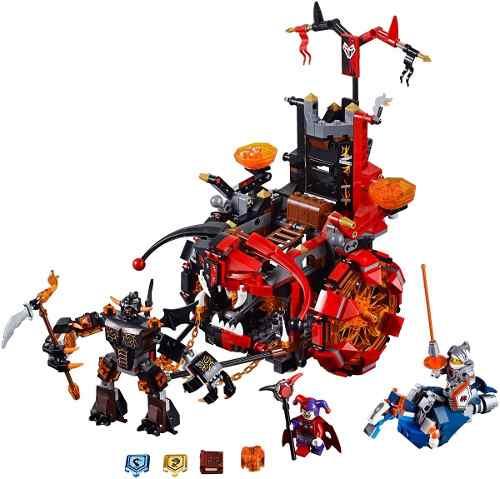 Lego 70316 Nexo Knights – O Terrível Carro  do Jestro  - 658 pç  - Doce Diversão
