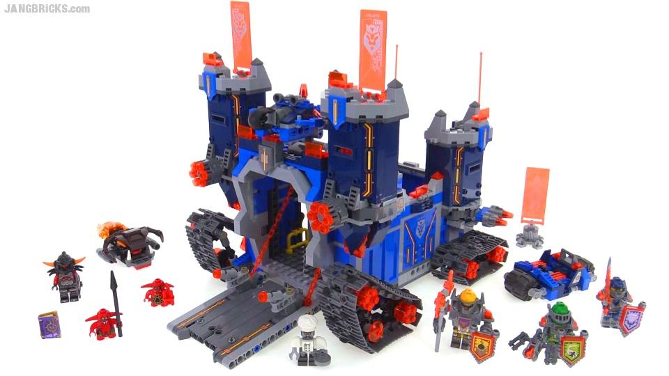 Lego 70317 Nexo Knights – O Fortrex – 1140 peças  - Doce Diversão