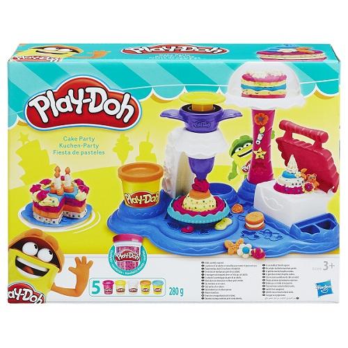 Play Doh Festa de Bolos - Hasbro  - Doce Diversão