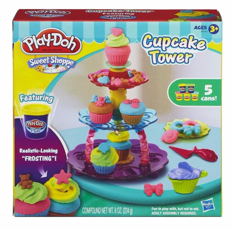Play Doh Torre de Cupcake - Hasbro  - Doce Diversão