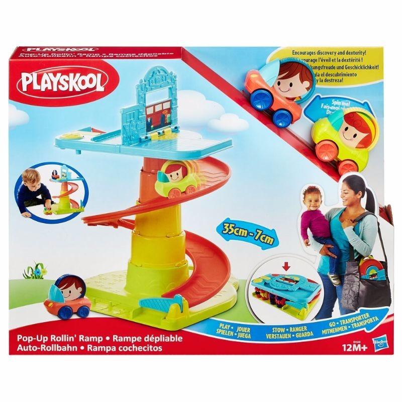 Playskool Rampa Com Veiculos - Hasbro  - Doce Diversão