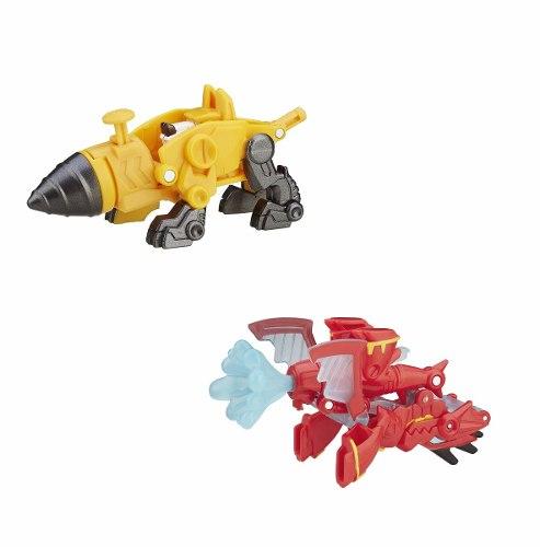 Playskool Transformers Rescue Bots Servo e Drake Hasbro  - Doce Diversão
