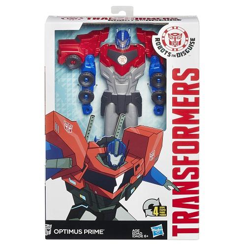 Transformers Ridisguise Titan Optimus Prime 30 cm Hasbro  - Doce Diversão
