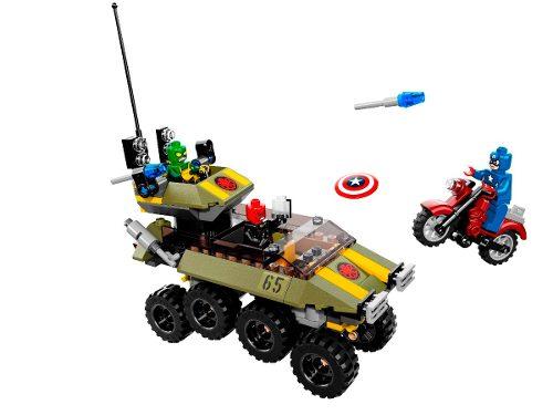 Lego 76017 Super Heroes Capitão America Contra Hydra  - Doce Diversão