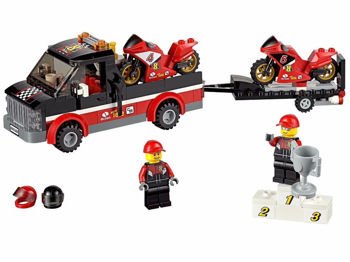 LEGO 60084 - City - Transportador de Motocicletas de Corrida  - Doce Diversão
