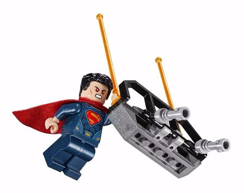 Lego 76044  Super Heroes Confronto Herois Batman vs Superman - Doce Diversão