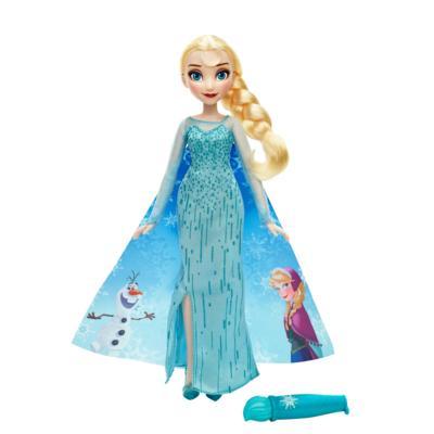 Boneca Frozen Elsa Vestido Mágico -  Hasbro  - Doce Diversão