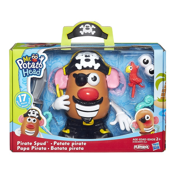 Mr Potato Head Tematico Pirata - Hasbro  - Doce Diversão