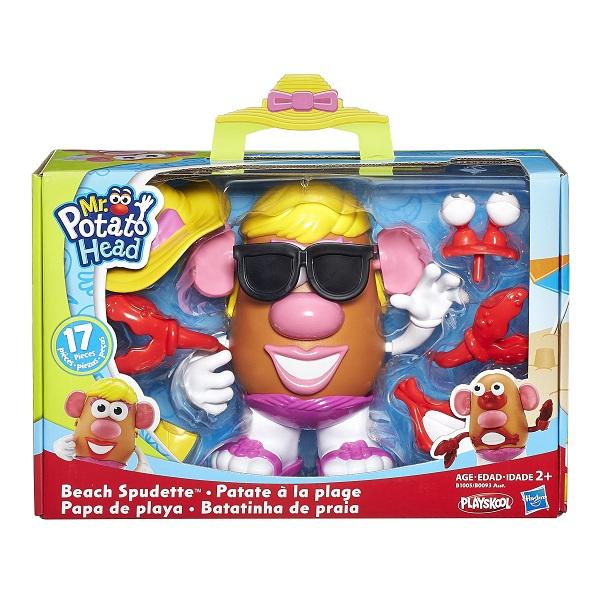 Mr Potato Head Tematico Praia - Hasbro  - Doce Diversão
