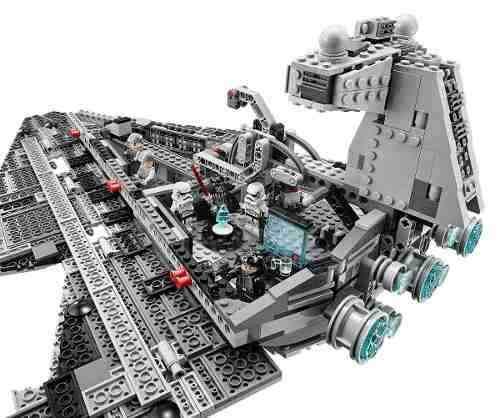Lego 75055 - Star Wars - Imperial Star Destroyer -1359 Peças  - Doce Diversão
