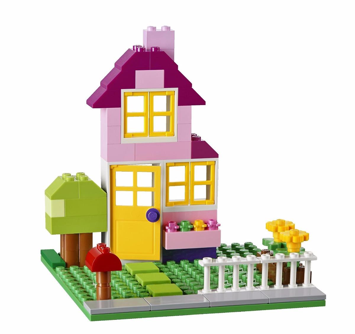 Lego 10698 – Classic  - Caixa Grande Criativa  790 peças  - Doce Diversão