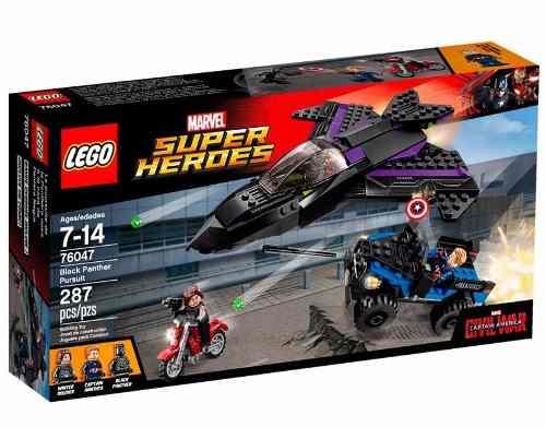 Lego 76047 Vingadores Guerra Civil Perseguição do Pantera Negra  - Doce Diversão