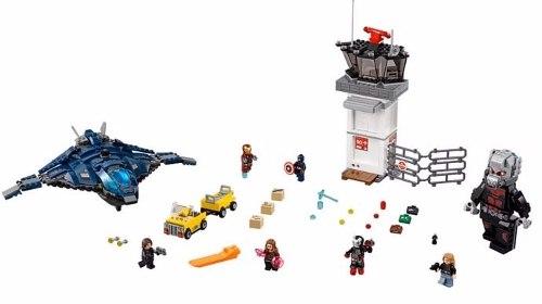Lego 76051 vingadores Guerra Civil Batalha no Aeroporto  - Doce Diversão