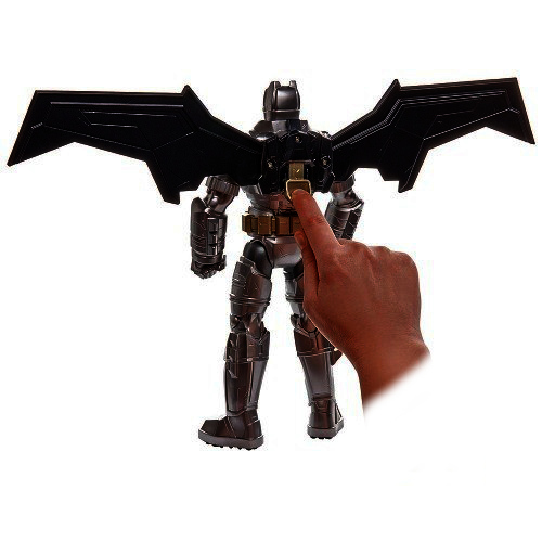 Batman VS Superman – Batman Eletronico Som e Luz 30cm - Mattel  - Doce Diversão