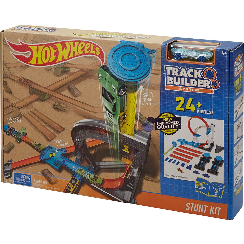 Pista Hot Wheels Workshop Spring TV -Mattel - Doce Diversão