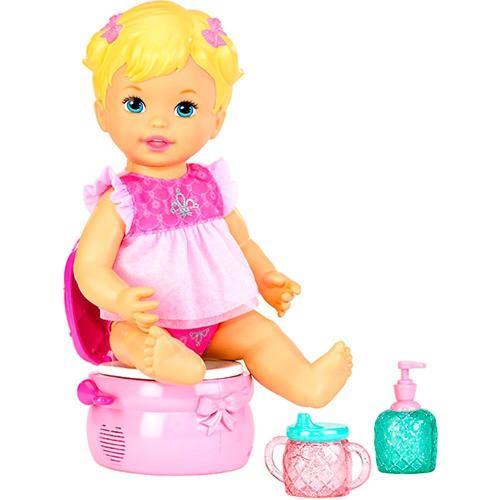 Boneca Little Mommy Peniquinho - Mattel  - Doce Diversão