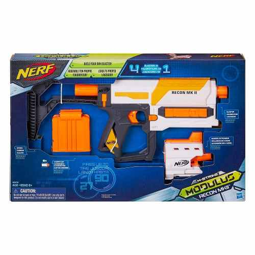 Lançador Nerf N-Strike Modulus Recon MKII Hasbro  - Doce Diversão