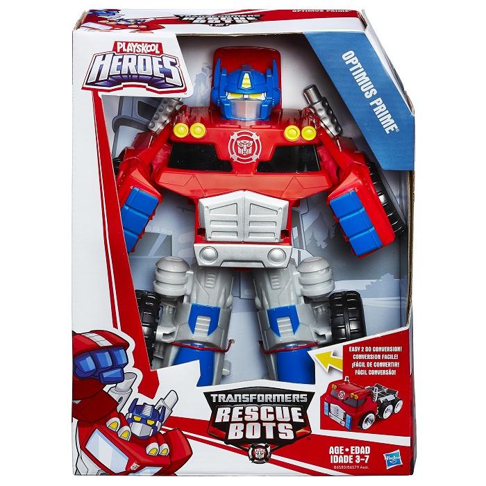 Playskool Transformers Rescue Megabots Optimus Prime – Hasbro  - Doce Diversão