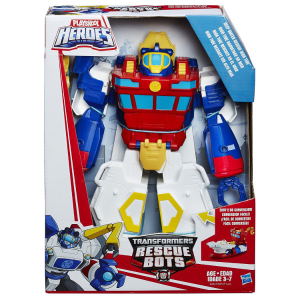 Playskool Transformers Rescue Megabots High Tide – Hasbro  - Doce Diversão
