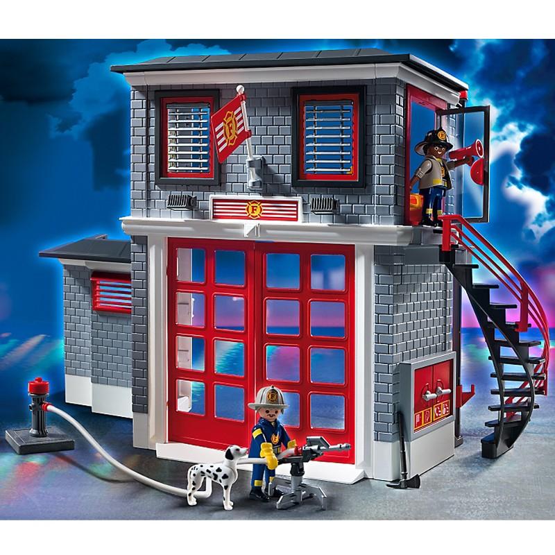 Playmobil City Action Estação de Bombeiros - Sunny  - Doce Diversão