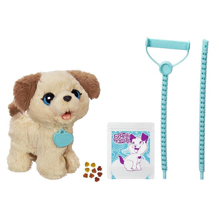Furreal Friends Meu Cachorrinho Pax  - Leve Passear , Come e Faz Cocô – Hasbro  - Doce Diversão