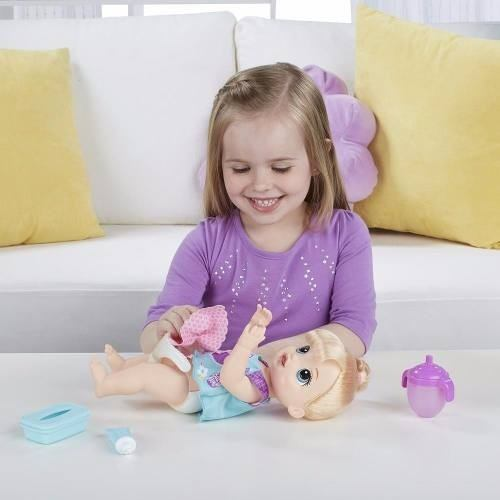 Boneca Baby Alive Fraldinha Mágica Loira - hasbro  - Doce Diversão