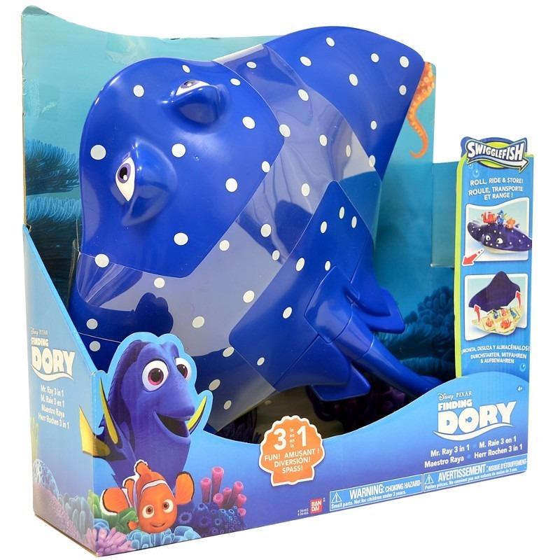 Disney Procurando Dory – Professor Raia  3 em 1 - Sunny  - Doce Diversão