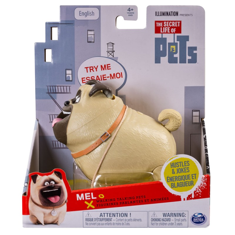 A vida Secreta dos Pets ( bichos) Com Som  - Mel - Sunny  - Doce Diversão