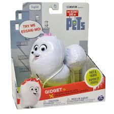 A vida Secreta dos Pets ( bichos) Com Som  - Gidget - Sunny  - Doce Diversão