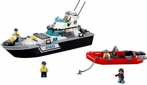 Lego 60129 – City Police – Barco de Patrulha Policia  - Doce Diversão